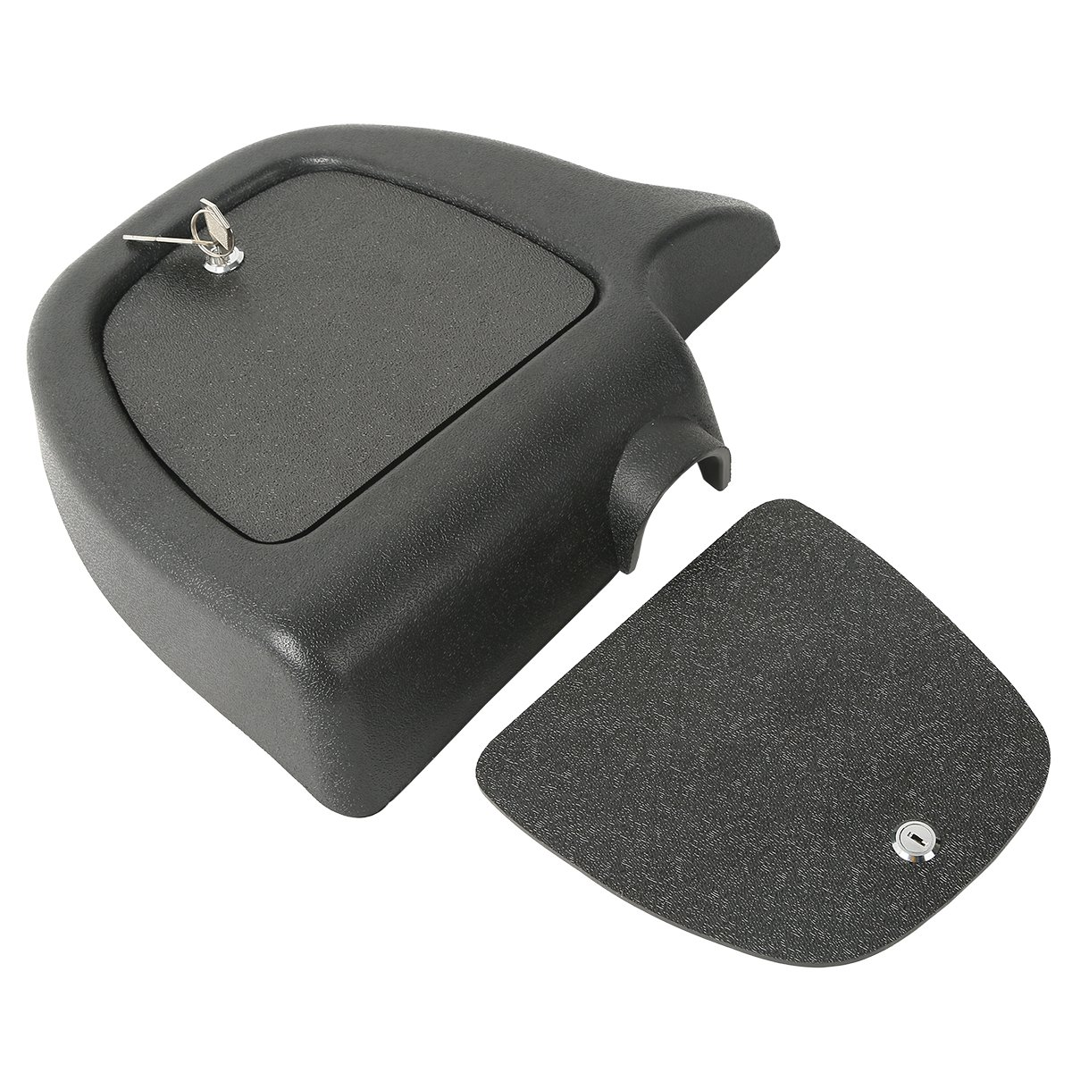 XMT-MOTO ABS Lower Fairing Locking Glovebox Doors For Harley Davidson Touring 2005-2013(Replaces OEM part:58679-05, 58681-05)