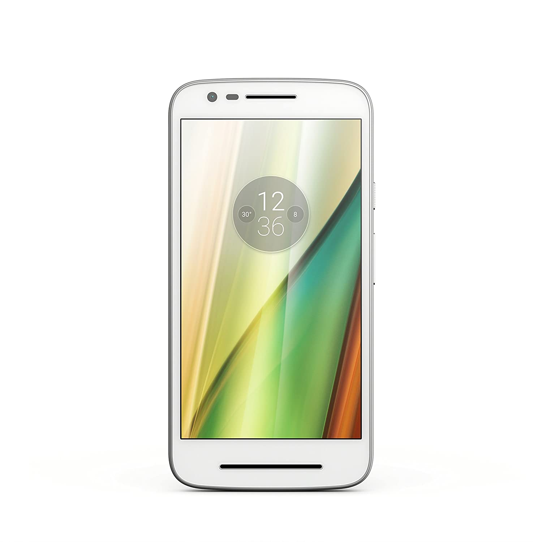 Lenovo Moto E3 - Smartphone 4G, Pantalla 5 Pulgadas, 8 GB, Micro SIM, Android, Blanco