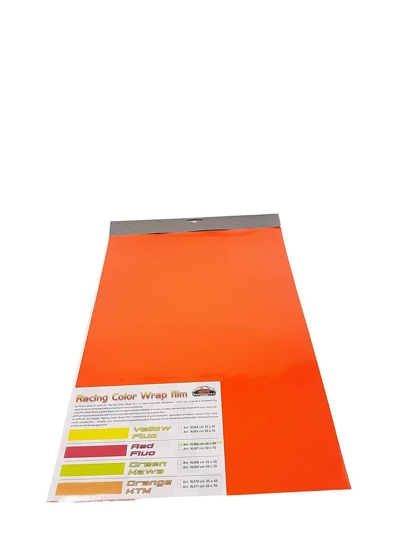 Giallo Fluo 50 x 70 cm Quattroerre 16365 Foglio Pellicola Adesivo Car Wrapping