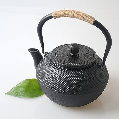 Hwagui-teiera giapponese ghisa bollitore con filtro per fornello, 1 ...