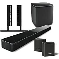 Bose 5.1 Home Theater System with SoundTouch 300 Soundbar, Acoustimass 300 Bass Module, Virtually Invisible 300 Surround Speakers, and SoundXtra SoundTouch 300 TV Mount