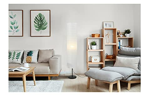Lampada da terra di carta lampada da salotto moderna per soggiorno