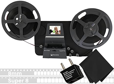 Wolverine 8 mm & Super 8 mm Carretes a Digital MovieMaker Pro Film ...