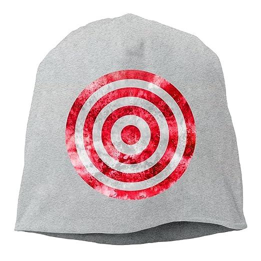 Amazon.com  Bng Vintage Style Target Beanies Caps Skull Hats Unisex Soft  Cotton Warm Hedging Cap 3dde8f36e6c