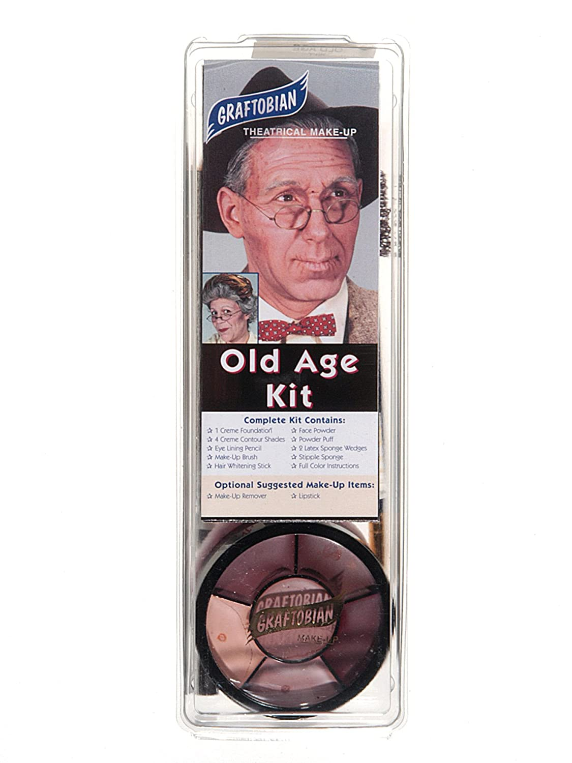 Graftobian Old Age Makeup Kit