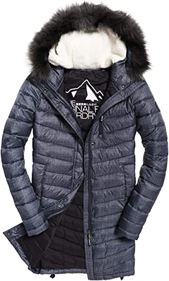 manteau superdry femme promo