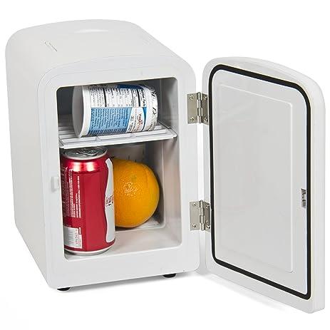 Portable Mini Fridge Cooler And Warmer Auto Car Boat Home Office Ac U0026 Dc  White