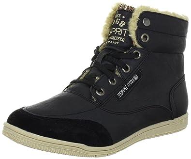 ESPRIT Randy Lu Bootie I13010, Damen Fashion Sneakers, Schwarz (black 001),