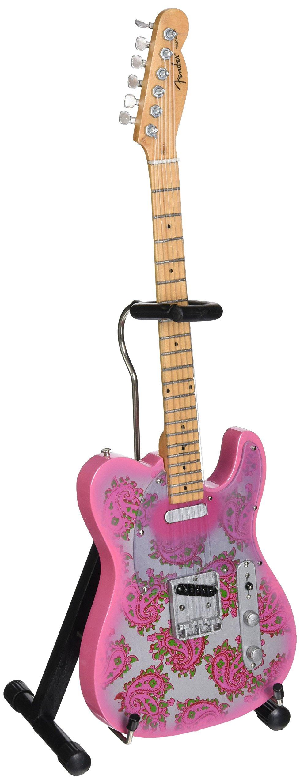Axe Heaven FT-005 Licensed Fender Telecaster Pink Paisley Mini Guitar