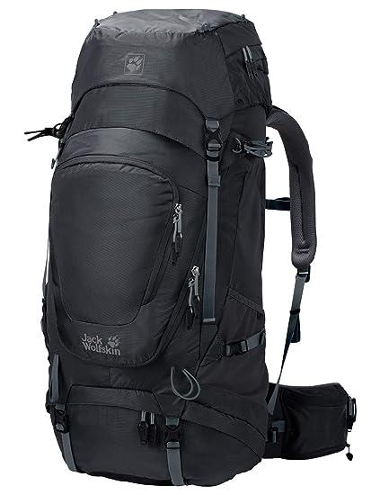 c562772b31e Amazon.com : Jack Wolfskin Highland Trail XT 60l Men's Internal Frame Hiking  Backpack with Rain Cover, Phantom : Sports & Outdoors