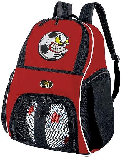 d66810b3da1 Amazon.com   Broad Bay Soccer Nut Soccer Ball Backpack or Soccer Fan ...