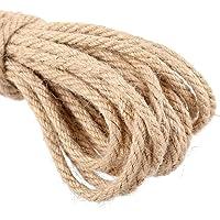 Cuerda gruesa de 20 m de yute natural