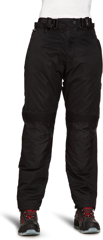 Black Roleff Racewear 455XL XL Textile Motorcycle Trouser