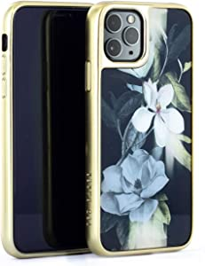 Ted Baker Fashion Premium Case for iPhone 11 Pro Max, Protective Cover iPhone 11 Pro Max for Professional Women/Girls - Opal