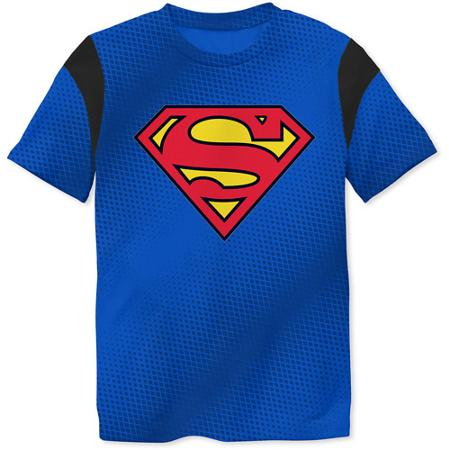 Superman Toddler Boy Performance Graphic Tee - Walmart.com