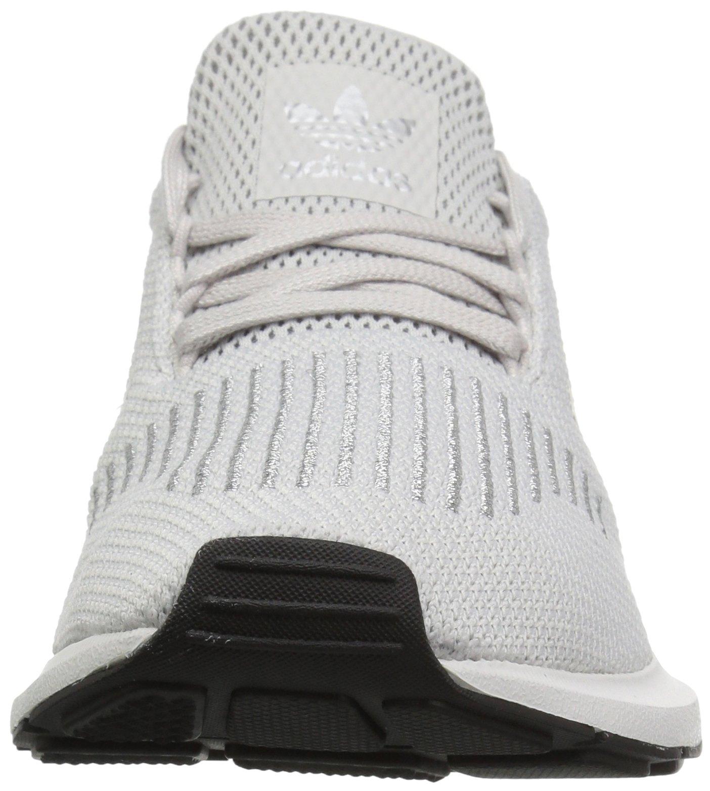 Adidas Originals  mujer 's Swift Run W, gris / plata metalizado / blanco