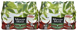 Minute Maid Juices To Go 100% Juice Apple 10 Oz (Pack of 4)