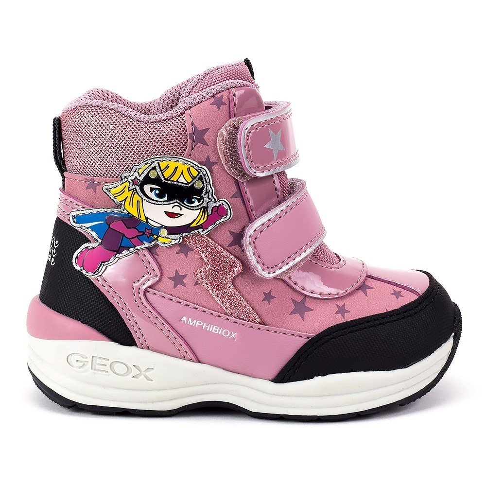 Geox Baby New gulp Girl ABX - B741FB0BC50C8F9B - Color Pink - Size: 8.5