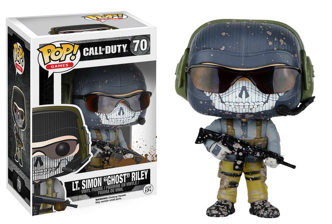 Extrêmement Amazon.com: Funko POP Games: Call of Duty Action Figure - Riley  SD47