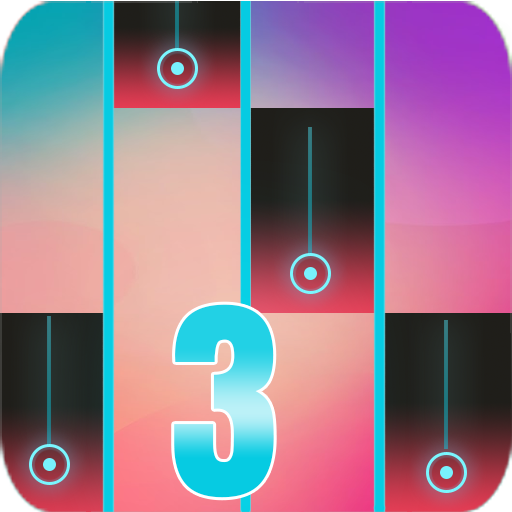 (Magic piano Tiles Pink)