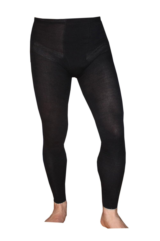 Weri Spezials Children Leggings for Boys with Codpiece, Color:Black