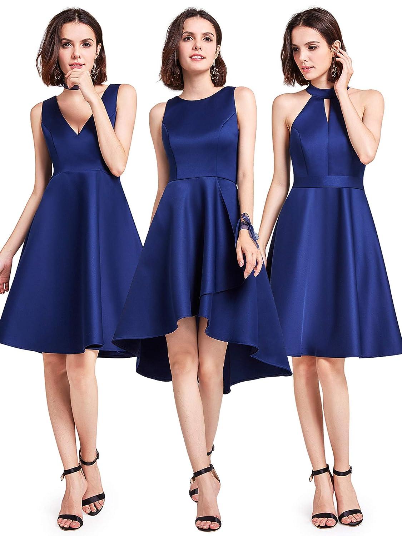 Ever-Pretty Vestidos de Dama de Honor Cortos Elegantes de Las Mujeres 05892