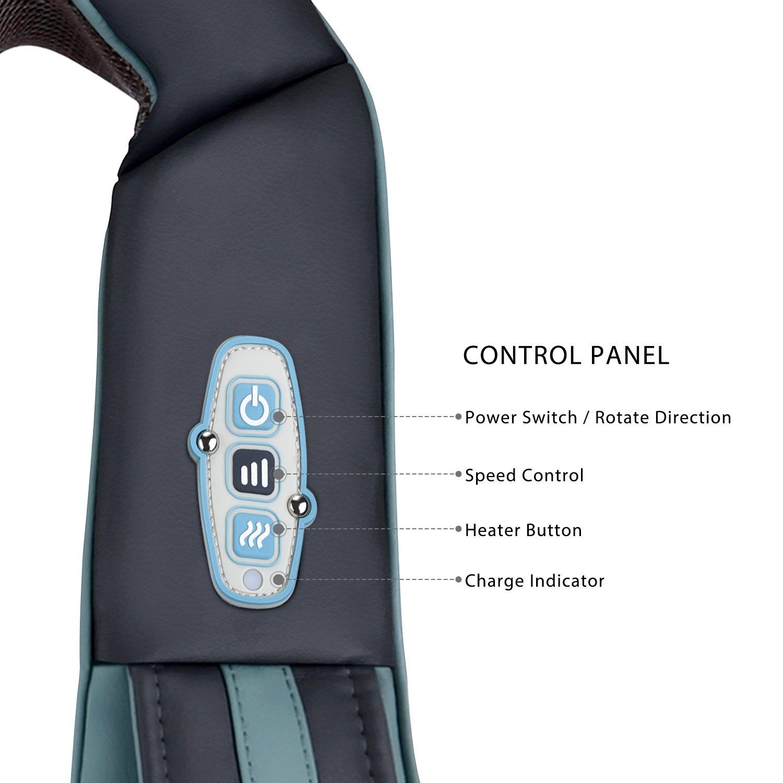 Naipo MGS-N12CS Nackenmassagegerät Bedienung