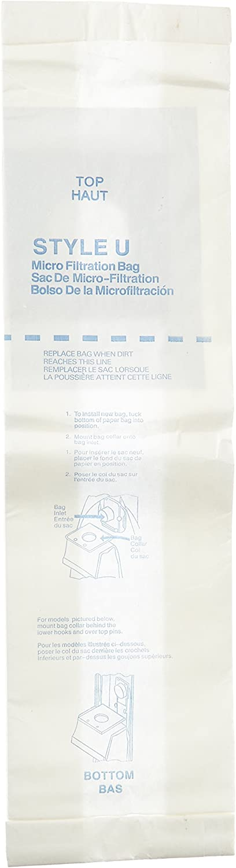 Eureka Style U Vacuum Bags (3 pack)