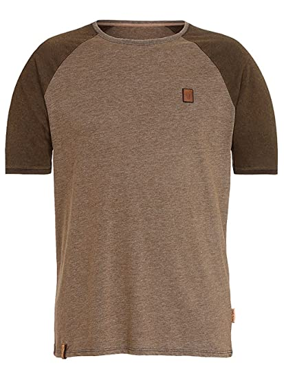 Herren T Shirt Naketano Fat Tony VIII T Shirt: Bekleidung
