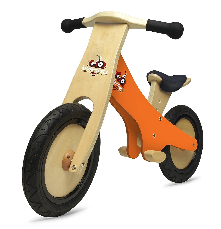 Kinderfeets Orange Chalkboard Wooden Balance Bike Pro-Motion Distributing - Direct KDFKF3.32