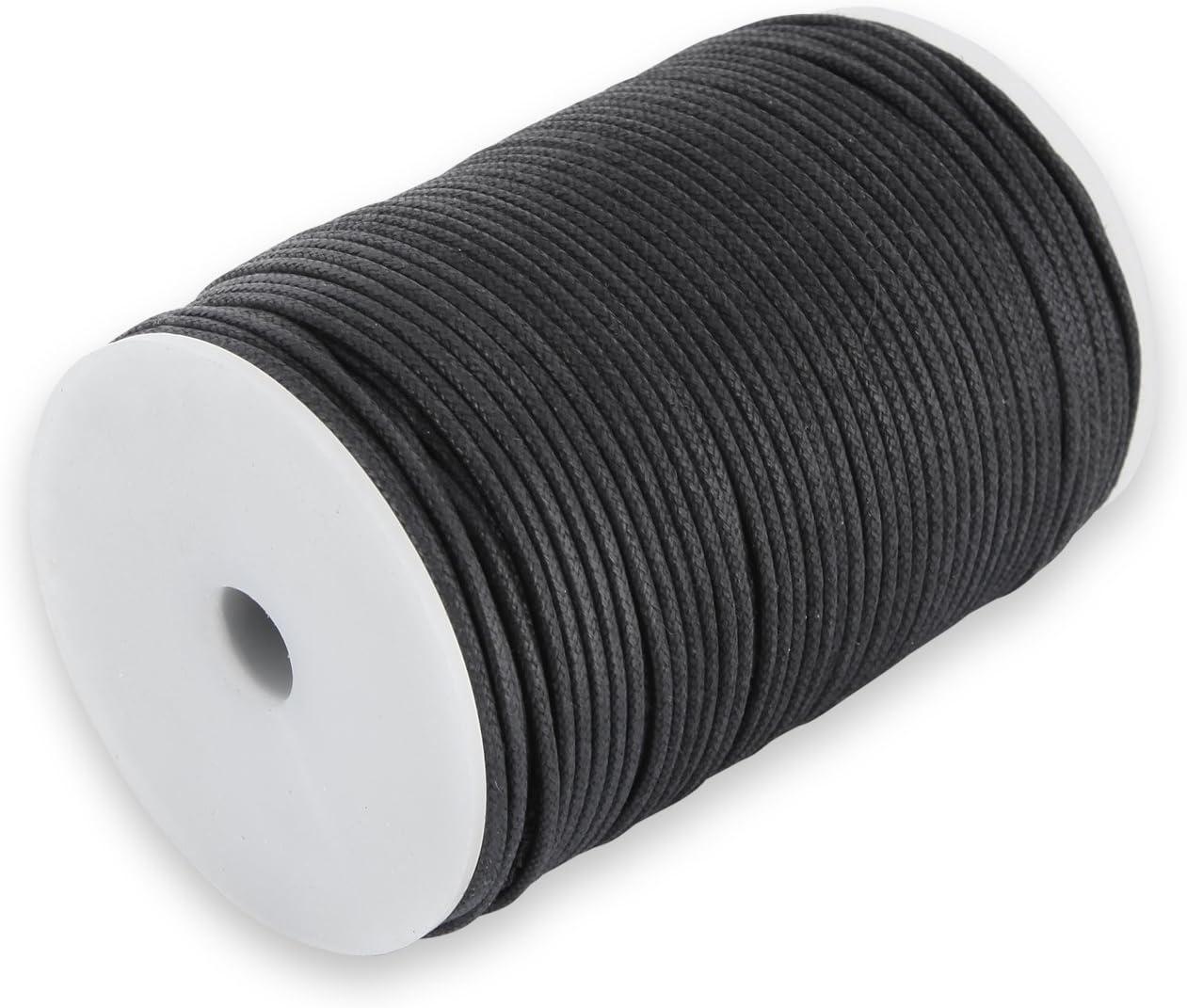 Cotton Tape Roll 100/m Approx 1/mm Auroris Black