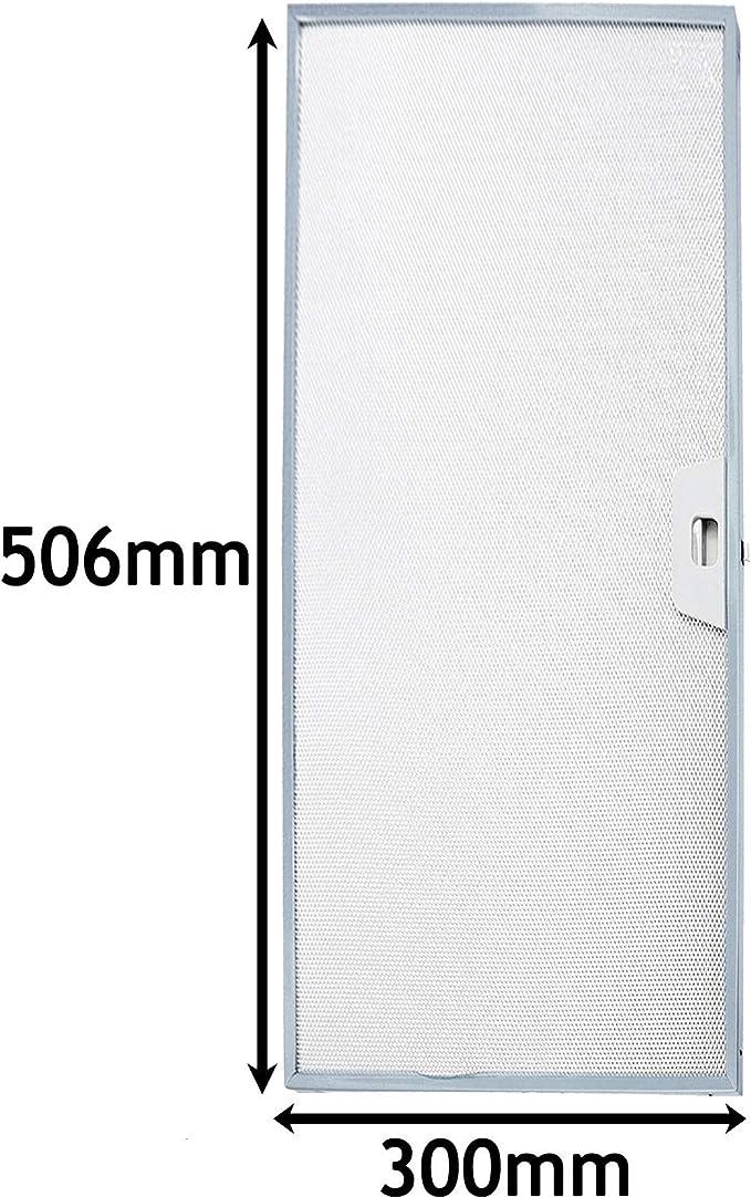 Spares2go Filtro de grasa para campana extractora de horno IKEA (506 x 300 mm): Amazon.es: Hogar