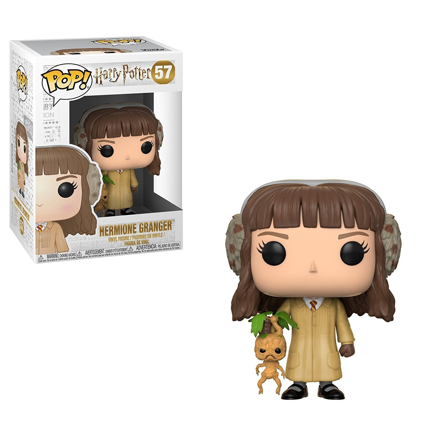 Movies: Harry Potter - Ginny on Broom Collectible Figure: Funko Pop!:: Toys & Games