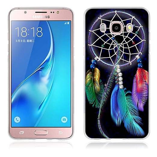 5 opinioni per Samsung Galaxy J5 (2016) Cover, Fubaoda Alta qualità [Dreamcatcher] artistico