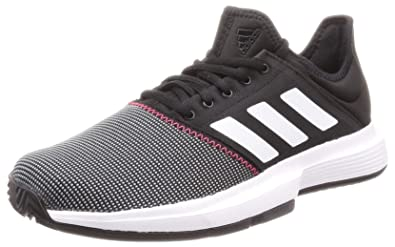 adidas Game Court Tennis Shoes - SS19-7.5 - Black
