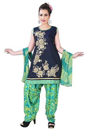 e9c9425508 BEDI'S Party WEAR Ladies Readymade Suits for Women Punjabi Patiala Salwar  Kameez Suit Indian Straight Suit