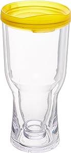 MyBevi Beer Tumbler, 16 oz, Clear