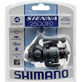 Shimano Sienna 2500 Front Drag Spinning Clam Reel