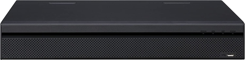 Dahua NVR4432-4KS2 4K 32 Channel 1.5U 4K /& H.265 Lite Network Video Recorder HDMI//VGA IVS OEM 4 SATA 200Mbps 16CH Alarm