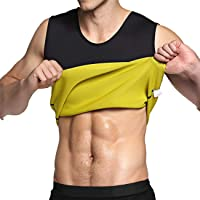IFLOVE Mannen Hot Sweat Body Shaper buik vetverbrander Tank Top Afslanken Vest Gewichtsverlies Shapewear Neopreen Geen…