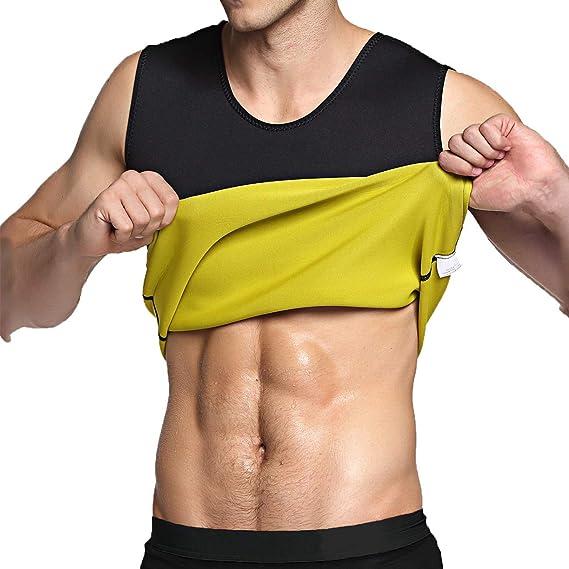 Details about  /Men /& Women Sauna Sweat Slimming Trainer Vest Neoprene Yoga Thermal Body Shaper