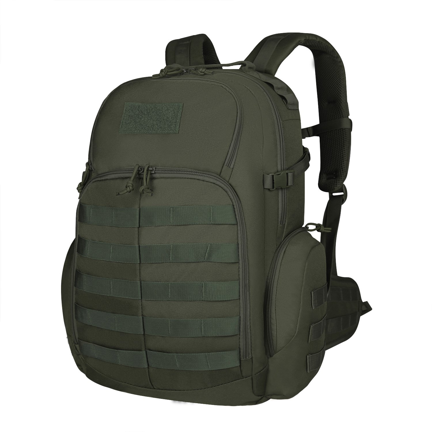 Mardingtop 35L Tactical Backpacks Molle Hiking daypacks for Camping Hiking Military Traveling M6232-Army Green