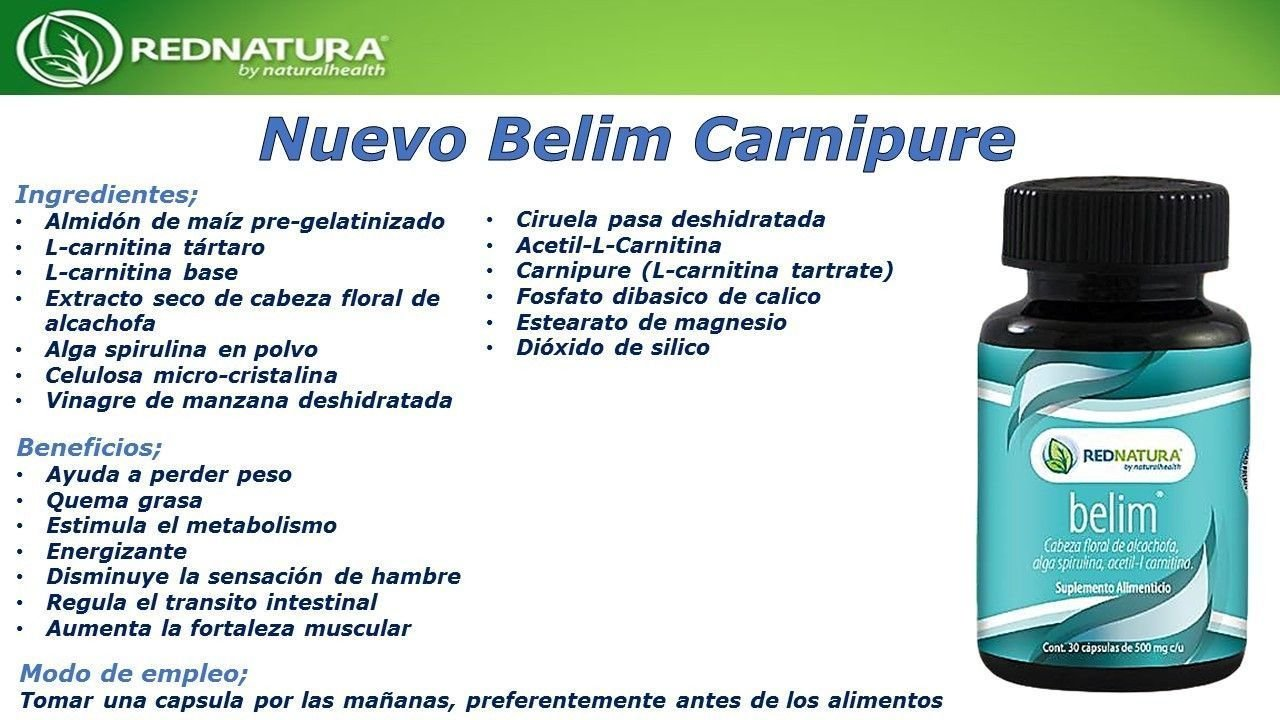 RED NATURA BELIM CAPSULES, IMPROVED FORMULA! BEST WEIGHT LOSS CAPSULES by Red Natura: Health & Personal Care