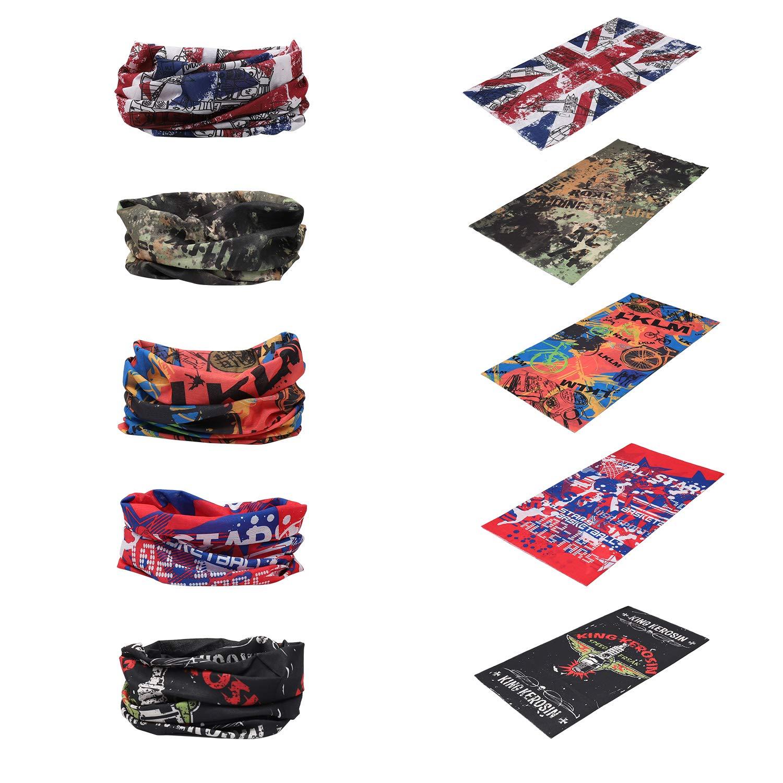 Bellissimi e colorati foulard/bandane. Ottima qualità e utilità.