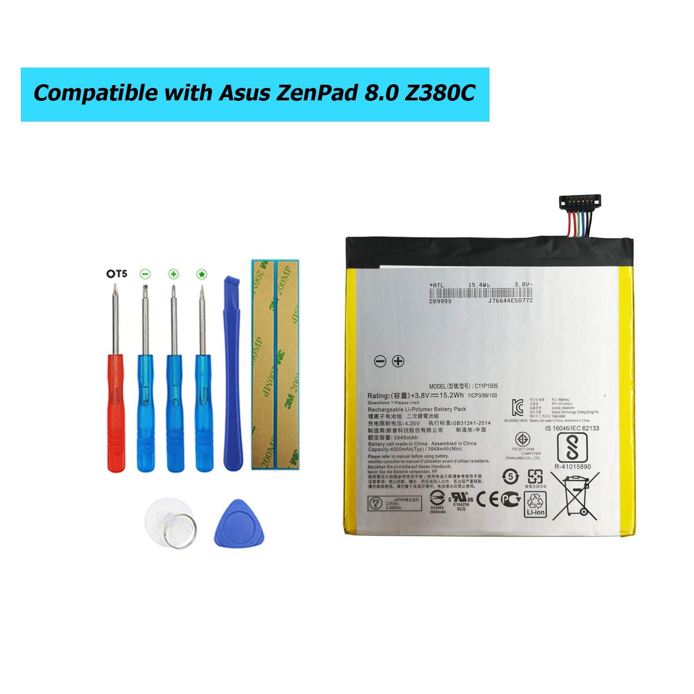 Bateria C11P1505 Asus ZenPad 8.0 Z380C Z380CX Z380KL Z380C Z