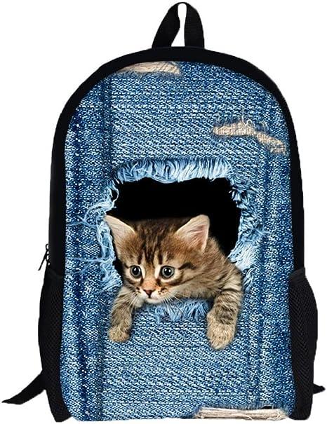 mochilas escolares juveniles, Sannysis mochilas mujer viaje, Gatos ...