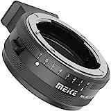 Objektivadapter Mount Adapter für Nikon-F-Objektiv auf Micro Four Thirds Olympus Panasonic Kamera – z.B für Olympus E-PM E-P5 E-M1 E-M5 E-M10 E-PL5 E-PL6 E-PL7 etc – Panasonic GF5 GF6 GM1 GM5 GX1 GX7