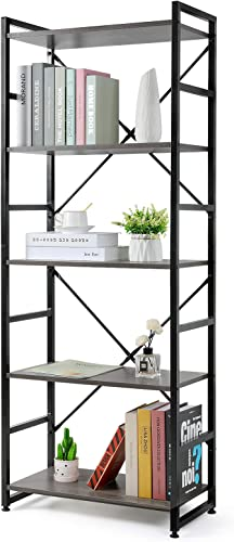 Haton Bookshelf Modern Bookcase  - the best modern bookcase for the money