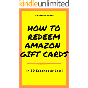 How to Redeem Amazon Gift Cards: In 30 Seconds or Less!