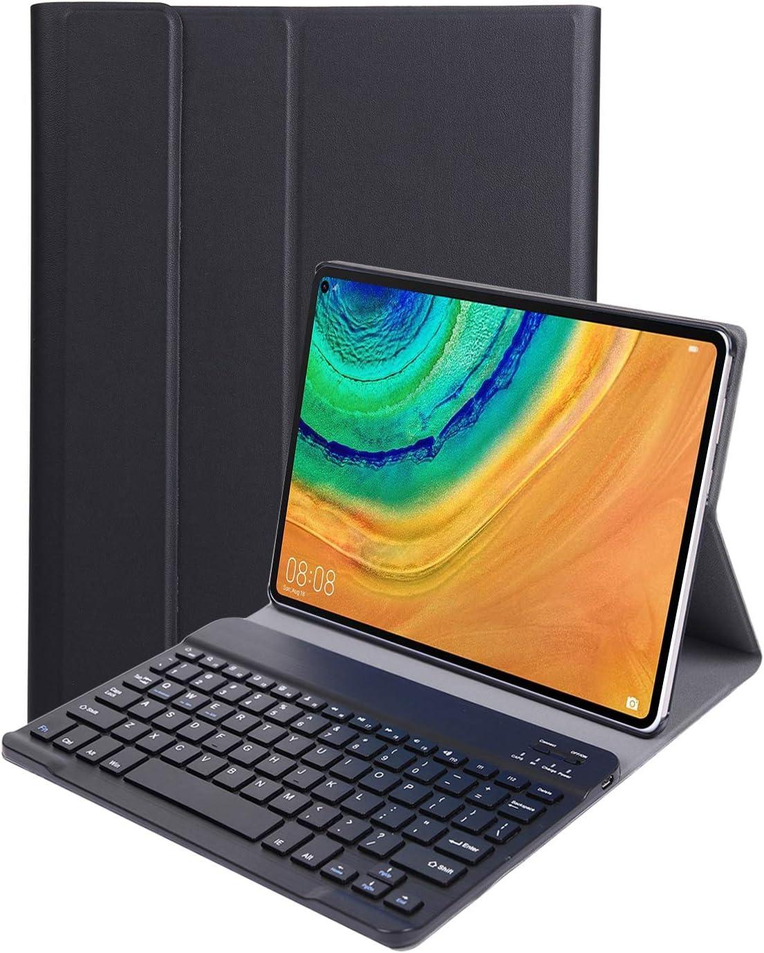 Rose Or QWERTY Anglais YGoal Clavier Coque pour Huawei MatePad Pro, Haute Qualit/é PU Cuir Housse /Étui avec D/étachable sans Fil Clavier pour Huawei MatePad Pro